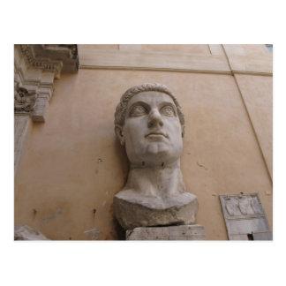 Estatua colosal de Constantina, Roma, CE. 315-220 Postal