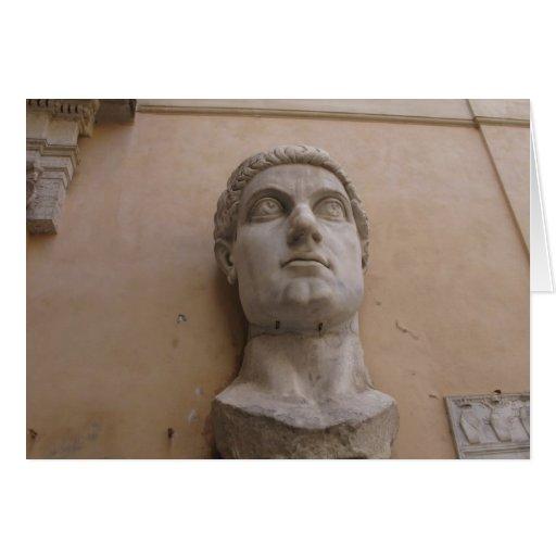 Estatua colosal de Constantina, Roma, CE. 315-220 Tarjeta De Felicitación