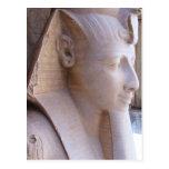 Estatua colosal de Ramesses II en Memphis, Egipto Postal