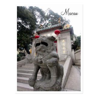 estatua de A-ma Temple Postales