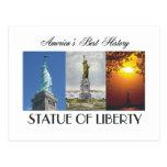 Estatua de ABH de la libertad Postal