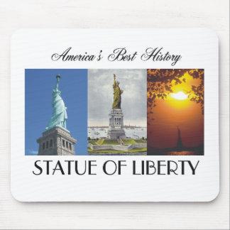 Estatua de ABH de la libertad Tapetes De Raton