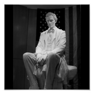 Estatua de Abraham Lincoln de James Earle Fraser e Impresiones