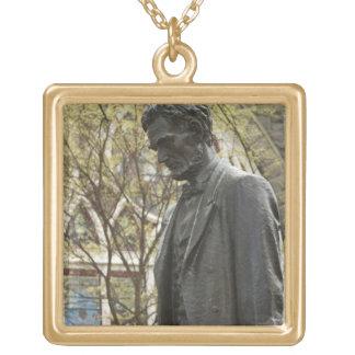 Estatua de Abraham Lincoln, Portland, Oregon Colgante