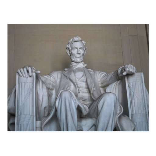 Estatua de Abraham Lincoln Postal