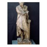 Estatua de Alejandro Dumas Pere, c.1883-87 Postal
