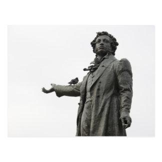 Estatua de Alexander Pushkin, St Petersburg Tarjetas Postales
