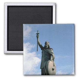Estatua de Alfred el grande Iman De Nevera