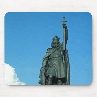 Estatua de Alfred el grande Tapete De Ratón
