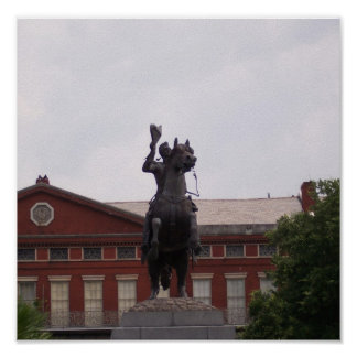 Estatua de Andrew Jackson Impresiones