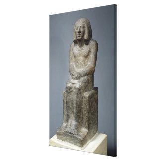 Estatua de Ankh, sacerdote de Horus, el PE dinásti Lona Estirada Galerías