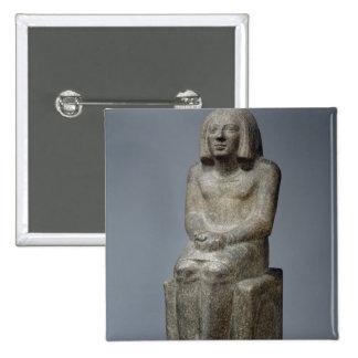 Estatua de Ankh, sacerdote de Horus, el PE dinásti Pin Cuadrado