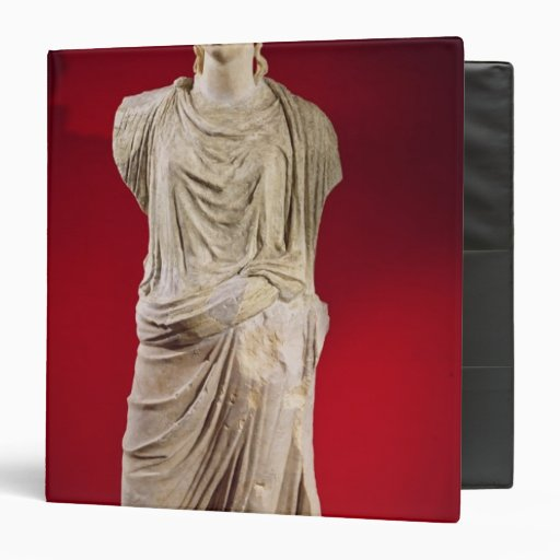 """Estatua de Antonia el más joven Carpeta 1 1/2"""""""