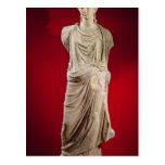 Estatua de Antonia el más joven Tarjeta Postal