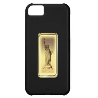 Estatua de barra de oro de la caja de la casamata