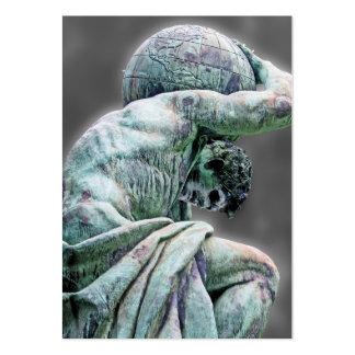 Estatua de Bismarck, Berlín, atlas griego de dios, Plantillas De Tarjetas De Visita