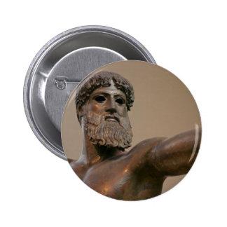 Estatua de bronce de Zeus en Atenas Grecia Pin