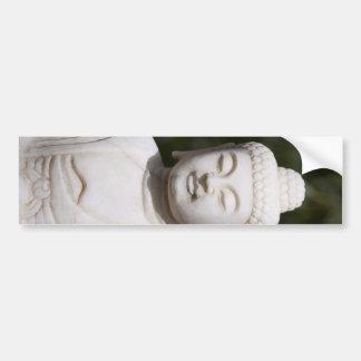 Estatua de Buda Etiqueta De Parachoque