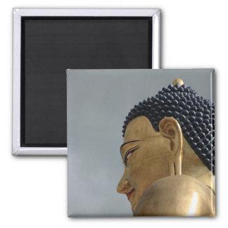 Estatua de Buda Dordenma Imán Cuadrado