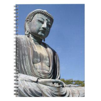 Estatua de Buda en Kamakura, Japón Notebook