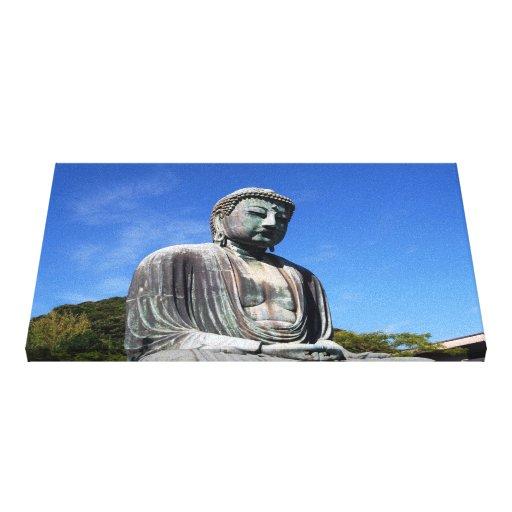 Estatua de Buda en Kamakura, Japón Impresion De Lienzo