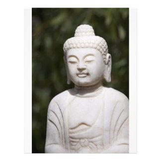 """Estatua de Buda Folleto 8.5"""" X 11"""""""