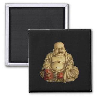 Estatua de Buda Imán Cuadrado