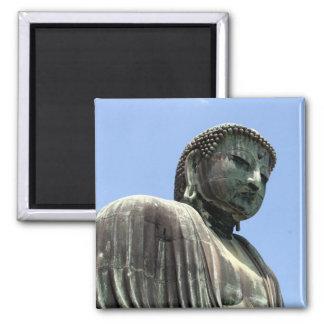 estatua de Buda kamakura Imán Cuadrado
