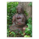 Estatua de Buda Tarjeton