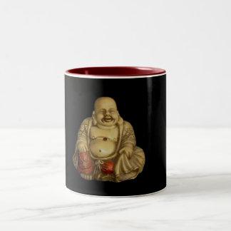Estatua de Buda Taza De Dos Tonos