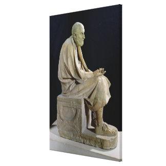 Estatua de Chrysippus el filósofo griego Impresiones En Lienzo Estiradas