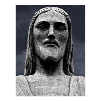 Estatua de Cristo Redentor en la montaña de Corcov Tarjetas Postales