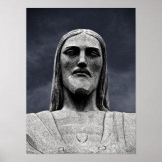 Estatua de Cristo Redentor Poster