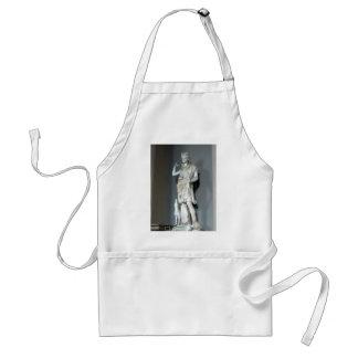 Estatua de Diana (Artemis) en el Vatican en Roma Delantal