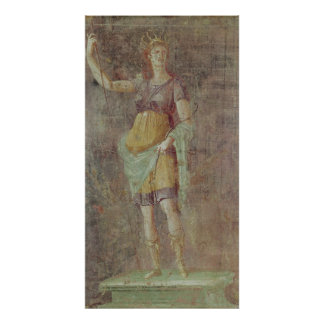 Estatua de Diana, de Pompeya, c.50-59 Póster