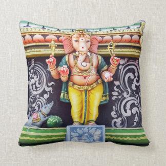 Estatua de dios de Ganesha Cojín