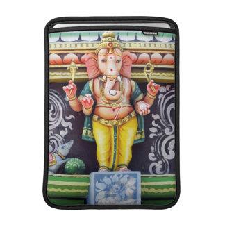Estatua de dios de Ganesha Fundas Para Macbook Air