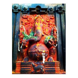 Estatua de Ganesha de dios Postal