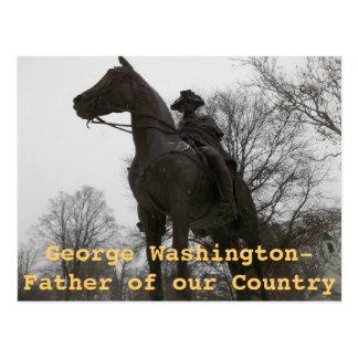 Estatua de George Washington Morristown New Jersey Tarjetas Postales