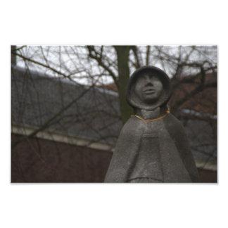 Estatua de Gertrudis van Oosten Arte Fotografico