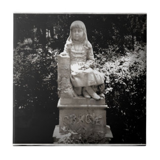 Estatua de Gracie Azulejo Cuadrado Pequeño