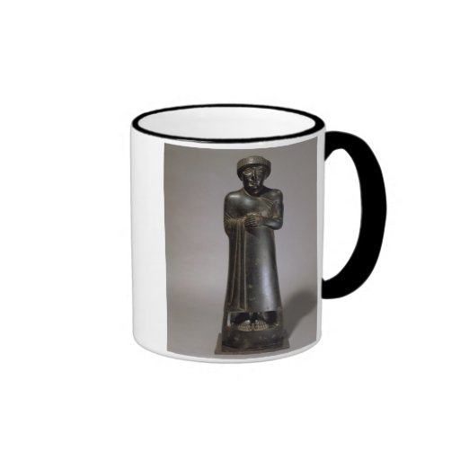 Estatua de Gudea, príncipe de Lagash, Neo-Sumerio, Tazas De Café