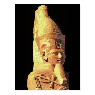 Estatua de Hatshepsut como Osiris Postales