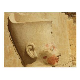 estatua de Hatshepsut - Pharaoh femenino de Egipto Postales