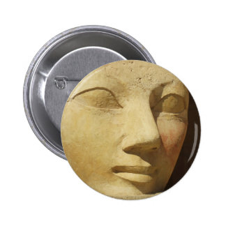 Estatua de Hatshepsut, Pharaoh Hatshepsut de Egipt Pin Redondo De 2 Pulgadas
