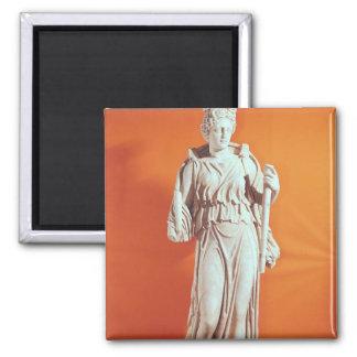 Estatua de Hecate Imán Cuadrado