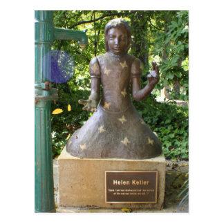 Estatua de Helen Keller Postal