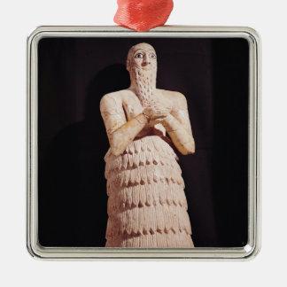 Estatua de Itur-Shamagen, rey de marcha Ornamento Para Arbol De Navidad