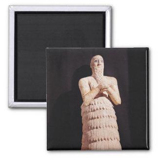 Estatua de Itur-Shamagen, rey de marcha Imán Cuadrado