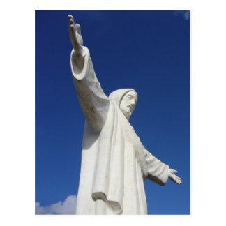 estatua de Jesús del cusco Postales